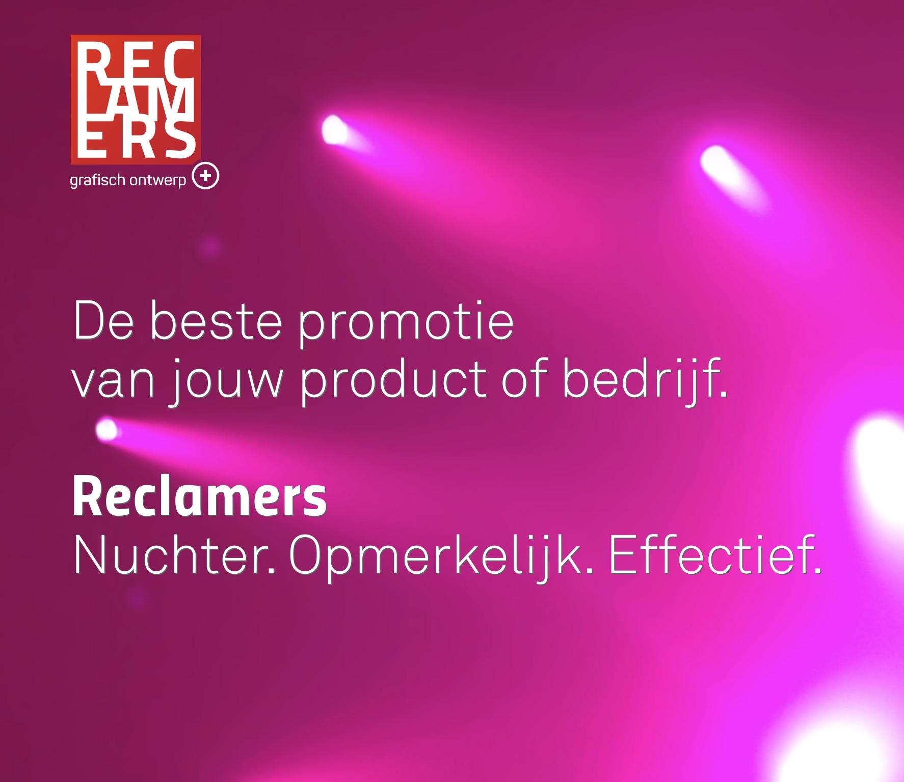 Reclamers grafisch ontwerp opvallende reclame uit veghel - Spotlight ontwerp ...